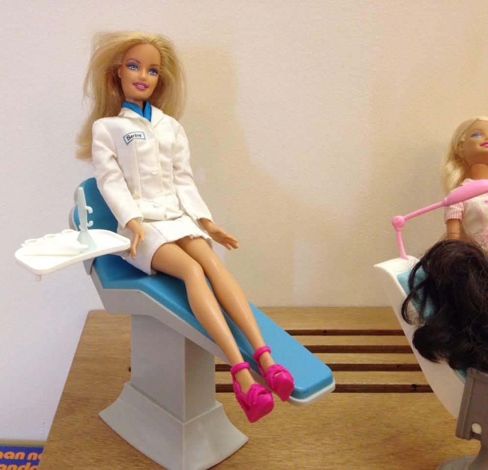 Barbie doet 't allemaal even voor...